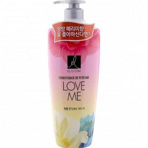 "152548lg Парфюмированный кондиционер  для всех типов волос "" Elastine Perfume Love me"", 600 мл"