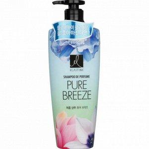 """152524lg Парфюмированный шампунь для всех типов волос  """"Elastine Perfume Pure Breeze"""", 600 мл"""