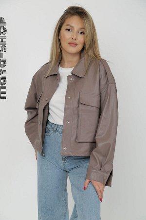 Куртка Ткань:Экокожа / ПолиэстерПроизводитель:КитайРост модели: 163 смПараметры модели: 89/63/89Фасон Oversize