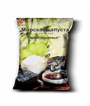 Ajikura сушенная морская капуста со вкусом лука, 18 гр. 1*50шт. Арт-35082