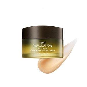Missha Time Revolution Artemisia Calming Moisture Cream Успокаивающий крем для лица, 50 мл