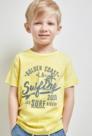 Футболка(Фуфайка) детская для мальчиков Perry желтый