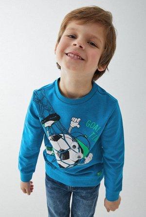 Джемпер детский для мальчиков Elfrie синий