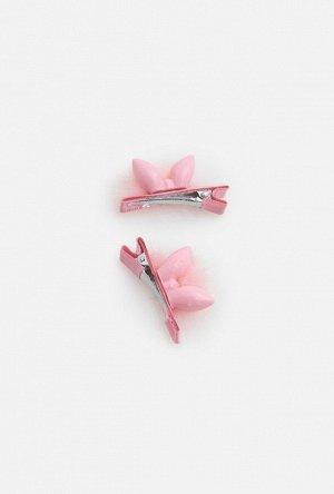 Набор из 2 заколок для волос дет. Vause светло-розовый