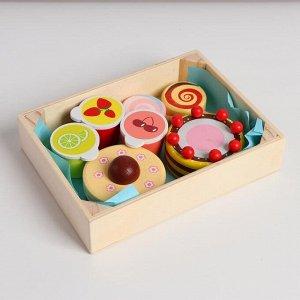 Набор продуктов в ящике «Сладости» 17*12,5*3,5 см