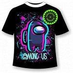 Подростковая футболка Амонг Ас Неон 1152
