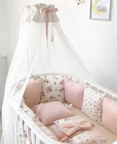 🐣Все необходимое с рождения от Kiddymart — Комплекты в кроватку