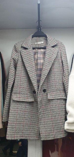 Пиджак Ткань Кашемир Длина 75см На рукавах подклада нет