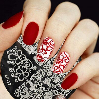 Гель-лаки, аксессуары для маникюра — Дизайн ногтей / Стемпинг, стразы — Дизайн ногтей