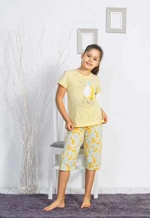 Детская пижама Uccello Цвет Желтый.