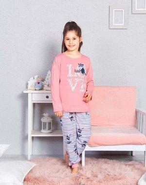 Детский костюм Leanna Цвет Розовый.