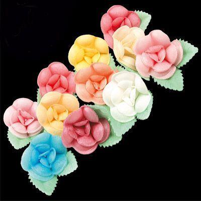 Съедобная печать для выпечки  — Вафельные бабочки, листья, цветы — Все для выпечки