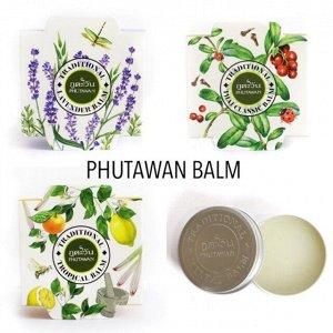 Натуральный бальзам Phutawan 30г