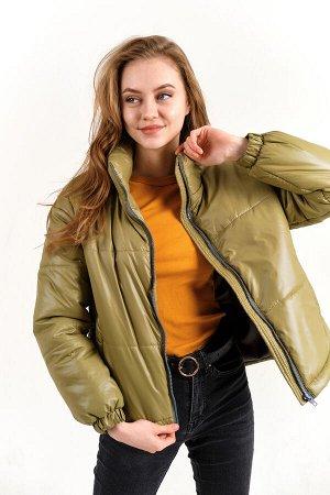 """Куртка женская """"Бостон"""" оливковый"""