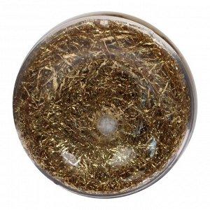 Поталь стружка 30 мл (1г), Lu*art Deco Potal, цвет золото светлое (24 карата) GP01V0010