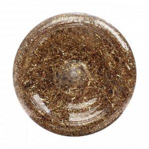 Поталь стружка 80 мл (1.5г), Lu*art Deco Potal, цвет золото светлое (24 карата) GP01V0015