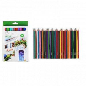 Карандаши художественные цветные «Сонет», 36 цветов