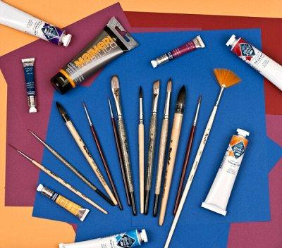 Art Идея. Вся палитра красок и товаров для творчества — Кисти Roubloff — Кисти