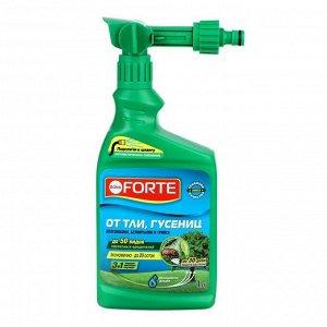 Средство защиты концентрат Эжектор БФ от тли, гусениц и других насекомых, 1 л