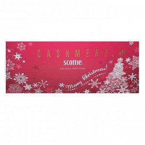 """Салфетки Crecia """"Scottie Cashmere"""" бумажные кашемировые, двухслойные (зимний дизайн) 220 шт / 10"""