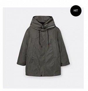 Куртка дм ХАКИ,осн.ткань: плащевая 100% пэ подкладка: нейлон, флис 100% пэ утеплитель: синтепон 100% пэ (200гр)