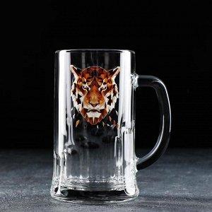 Кружка для пива Animals, 500 мл, МИКС