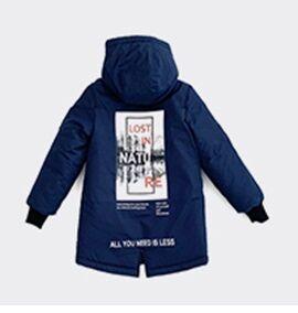 Куртка дм тёмно-синий,черный,осн.ткань: плащевая 100% пэ подкладка: нейлон, флис 100% пэ утеплитель: синтепон 100% пэ (300 гр)