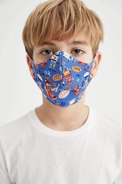 Трусики, бюстгальтеры,топы, боксеры, футболки,  кор. белье — Многоразовые тканевые маски детские и взрослые. — Бахилы и маски