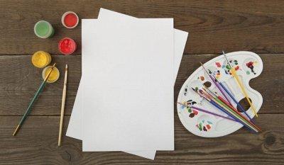 Art Идея. Вся палитра красок и товаров для творчества — Бумага для рисования — Холсты и бумага