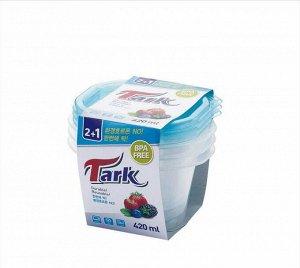 Контейнер Tark  КОРЕЯ 420 ml комплект 2+1