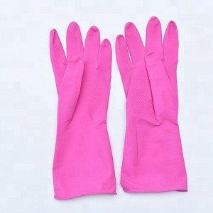 Перчатки хозяйственные, латексные