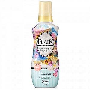 377388 KAO Flair Fragrance Кондиционер для белья с насыщенным ароматом (Цветочная гармония) 540мл