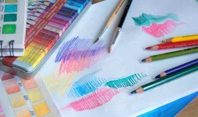 Art Идея. Вся палитра красок и товаров для творчества — Акварельные карандаши