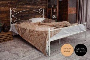 Кованая кровать Виктория 1.4 с одной спинкой