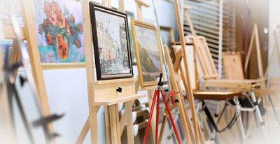 Art Идея. Вся палитра красок и товаров для творчества — Мольберты, этюдники, планшеты для художников — Фурнитура и инструменты