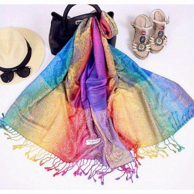 Предзаказ! Тайский супермаркет! Дешево! Мега-ассортиментище! — Тайские шарфы, пашмины и шали 100% шерсть,шелк и хлопок — Палантины и шали