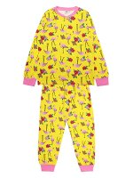 Пижама для девочки лимонный