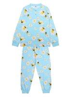 Пижама для девочки голубой