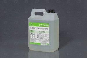 Ср-во моющее для посуды нейтральное концентрат MAGIC DROP 5л без запаха Pro Brite 176-5