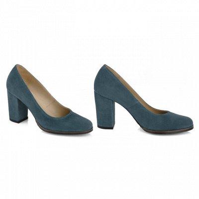 Sateg-8. Обувь из натуральной кожи 33-43 размера — Женские туфли на каблуке