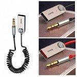 Автомобильный Bluetooth 5.0 AUX 3,5 мм ресивер Baseus аудио адаптер