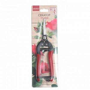 """Ножницы садовые, 8"""" (20 см), обрезиненные ручки"""