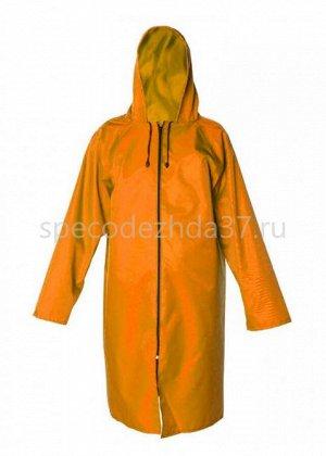 Плащ влагозащитный «Стандарт» цв.оранжевый