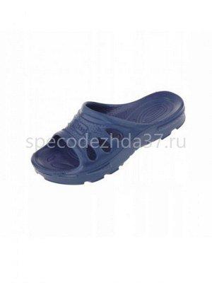 Тапочки пляжные «ЭВА» цв.тёмно-синий