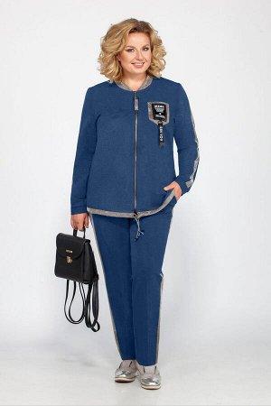 Блуза, брюки Bonna Image 455 синий
