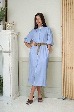Платье LadisLine 1349 голубой
