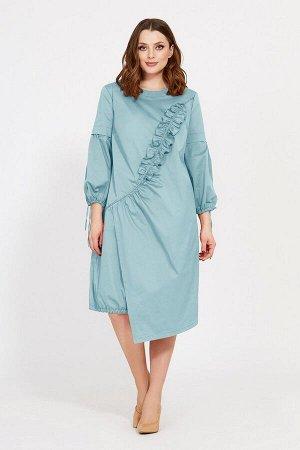Платье Mubliz 518 голубой
