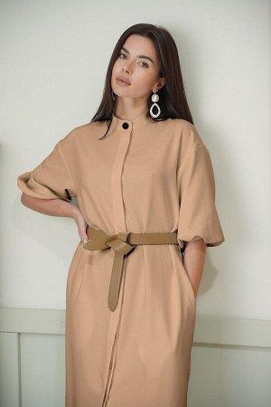 Платье LadisLine 1349 кэмел