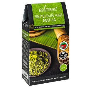Напиток POLEZZNO Зеленый чай МАТЧА