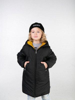 101271/1 (желтый) Пальто для мальчика